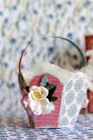 """Сделала несколько работ для выставки. Получилось два комплекта.  Использовала бумагу из коллекции Графика45 """"Ботанический чай"""".  фото 5"""