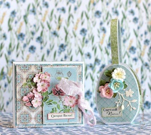 """Сделала несколько работ для выставки. Получилось два комплекта.  Использовала бумагу из коллекции Графика45 """"Ботанический чай"""".  фото 6"""