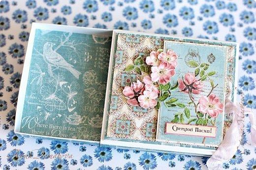 """Сделала несколько работ для выставки. Получилось два комплекта.  Использовала бумагу из коллекции Графика45 """"Ботанический чай"""".  фото 9"""