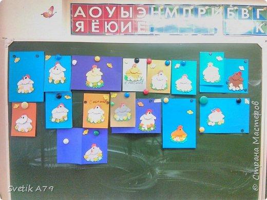 Работы детей 2 класса, на открытом внеурочном занятии по мастер-классу и шаблонам  Беликова Н.М.  фото 1