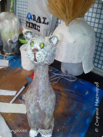 Кот на бутылке фото 2