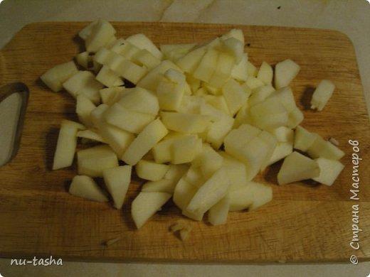 Будем готовить большой и вкусный кекс с тыквой, клюквой и яблоком. фото 8