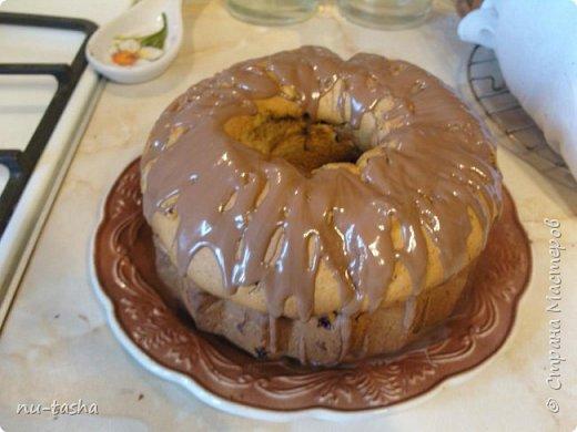 Будем готовить большой и вкусный кекс с тыквой, клюквой и яблоком. фото 13
