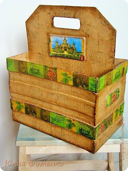 Добрый день, дорогие Мастера! Хочу поделиться опытом создания коробки-переноски, может кому-нибудь это и пригодится. фото 1