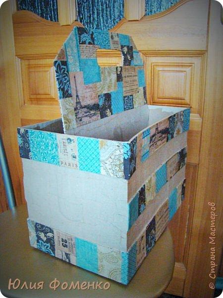 Добрый день, дорогие Мастера! Хочу поделиться опытом создания коробки-переноски, может кому-нибудь это и пригодится. фото 8