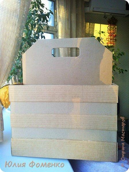 Добрый день, дорогие Мастера! Хочу поделиться опытом создания коробки-переноски, может кому-нибудь это и пригодится. фото 5