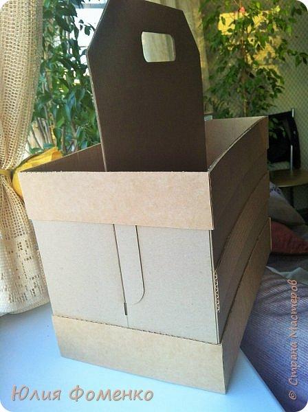 Добрый день, дорогие Мастера! Хочу поделиться опытом создания коробки-переноски, может кому-нибудь это и пригодится. фото 6