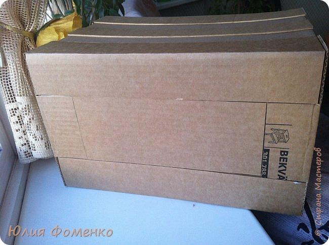 Добрый день, дорогие Мастера! Хочу поделиться опытом создания коробки-переноски, может кому-нибудь это и пригодится. фото 7