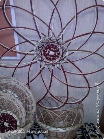 Подставки под горячее из прутиков ивы и декоративного кустарника фото 5
