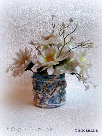 Предыдущие баночки  http://stranamasterov.ru/node/221855 *************************************************************** Весна!!! Но в Питере природа оживает очень медленно. Даже не верится, что где-то уже вовсю цветут сады . Хочется приблизить это чудесное время. фото 3