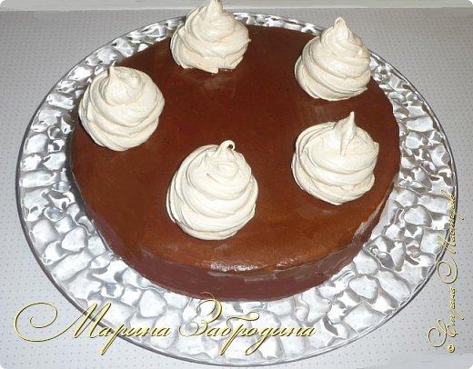 Привет ВСЕМ! Сегодня поделюсь рецептом еще одного тортика. Вкусный шоколадный бисквитный корж и сливочный мусс с черносливом. фото 1