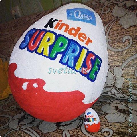 Огромные яйца-сюрпризы фото 1