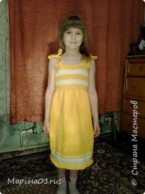 Вязаные обновки для доченьки фото 1