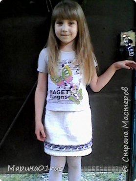 Вязаные обновки для доченьки фото 5