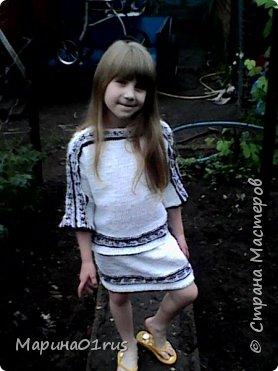 Вязаные обновки для доченьки фото 2