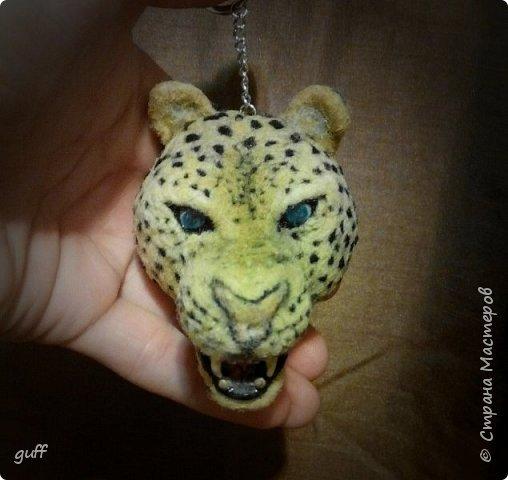 Брелок Леопард фото 1