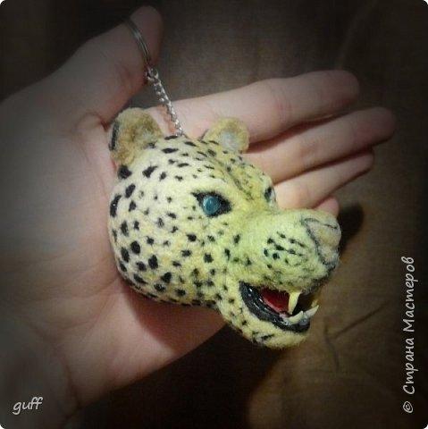 Брелок Леопард фото 3