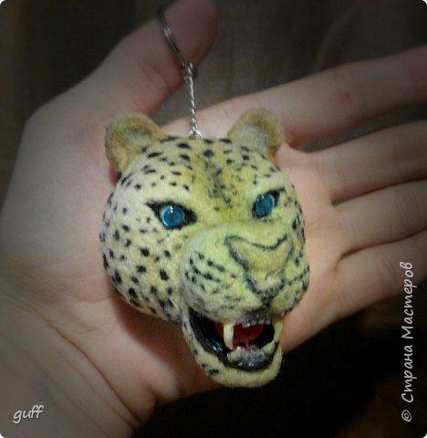 Брелок Леопард фото 2