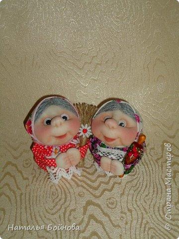 """Маленькие текстильные куклы """"Хозяюшки - благополучницы"""" фото 3"""