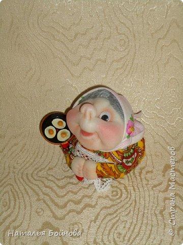 """Маленькие текстильные куклы """"Хозяюшки - благополучницы"""" фото 2"""