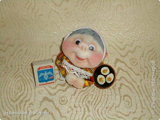 """Маленькие текстильные куклы """"Хозяюшки - благополучницы"""" фото 6"""