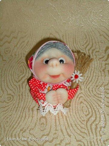 """Маленькие текстильные куклы """"Хозяюшки - благополучницы"""" фото 5"""