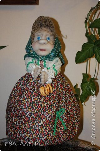 Бабка-грелка на чайник