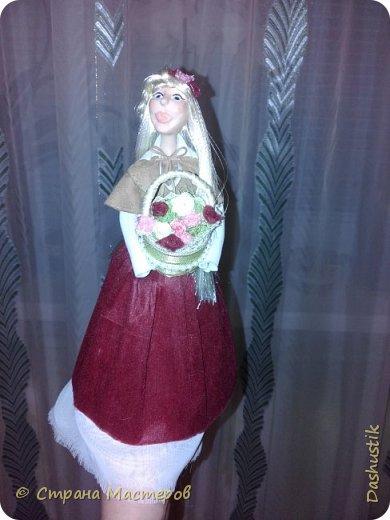 Девушка-крестьянка фото 1