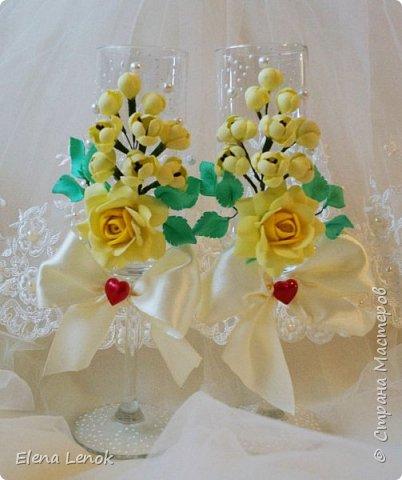 Свадебный букет из фоамирана. фото 3
