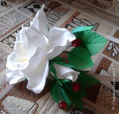 Свадебный букет из фоамирана. фото 5