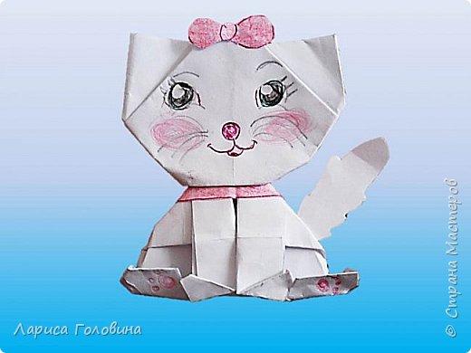 С третьеклассниками мастерили котят. Как их складывать https://www.youtube.com/watch?v=P3r5dbeuEUw&index=177&list=PUL5lvu-bCCISUbcEYlrD4NA Как всегда, работы ушли от оригинала. У каждой кошки получился свой характер фото 1