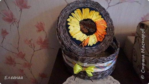Добрый вечер,дорогие жители СМ!!!Набралась наглости выставить свои первые вытворялки в области газетного плетения. фото 2