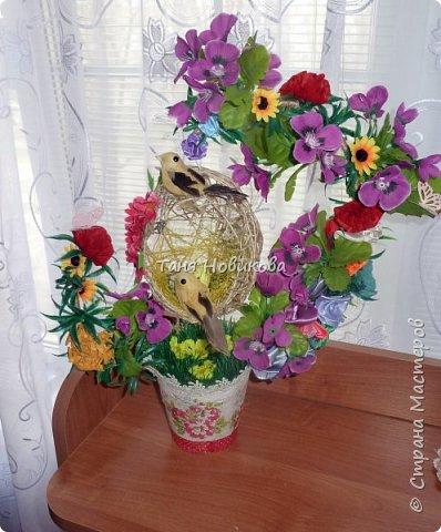 """Благодаря замечательному МК Елены  http://stranamasterov.ru/node/785144?c=favorite у меня теперь есть вот такое """"Семейное гнездышко""""!!!! Как-же оно мне нравится!!! фото 1"""