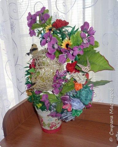 """Благодаря замечательному МК Елены  http://stranamasterov.ru/node/785144?c=favorite у меня теперь есть вот такое """"Семейное гнездышко""""!!!! Как-же оно мне нравится!!! фото 5"""