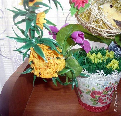 """Благодаря замечательному МК Елены  http://stranamasterov.ru/node/785144?c=favorite у меня теперь есть вот такое """"Семейное гнездышко""""!!!! Как-же оно мне нравится!!! фото 4"""