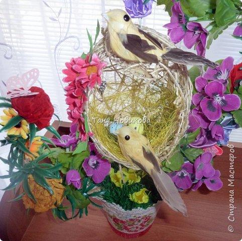 """Благодаря замечательному МК Елены  http://stranamasterov.ru/node/785144?c=favorite у меня теперь есть вот такое """"Семейное гнездышко""""!!!! Как-же оно мне нравится!!! фото 6"""