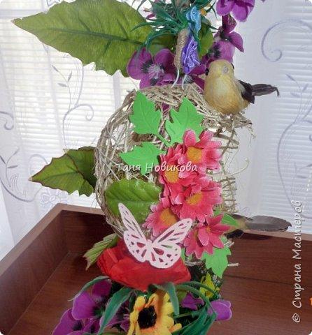 """Благодаря замечательному МК Елены  http://stranamasterov.ru/node/785144?c=favorite у меня теперь есть вот такое """"Семейное гнездышко""""!!!! Как-же оно мне нравится!!! фото 7"""