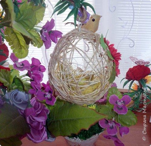 """Благодаря замечательному МК Елены  http://stranamasterov.ru/node/785144?c=favorite у меня теперь есть вот такое """"Семейное гнездышко""""!!!! Как-же оно мне нравится!!! фото 8"""