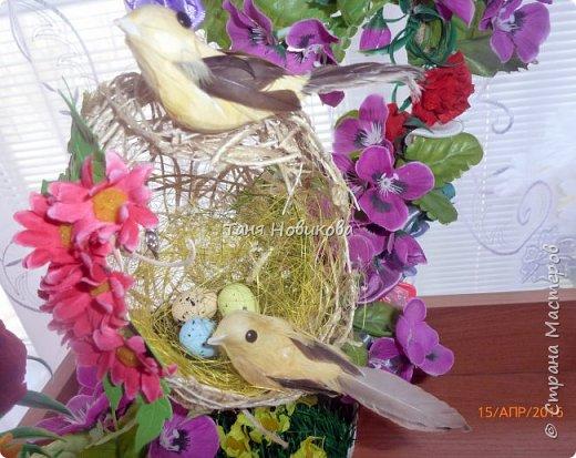 """Благодаря замечательному МК Елены  http://stranamasterov.ru/node/785144?c=favorite у меня теперь есть вот такое """"Семейное гнездышко""""!!!! Как-же оно мне нравится!!! фото 9"""