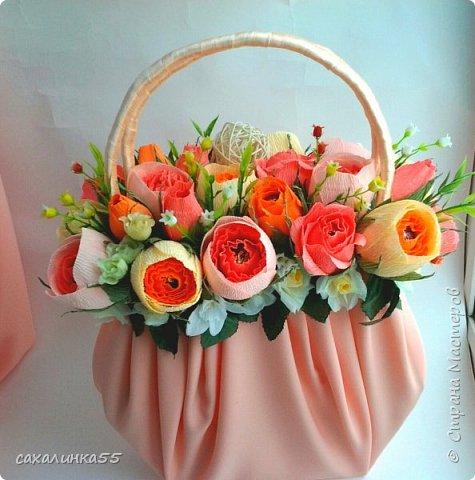 Здравствуйте мои любимые жители страны! Конкурс дал пинок моему вдохновению, и я сотворила вот такую сумочку дочери на день рождения. фото 2