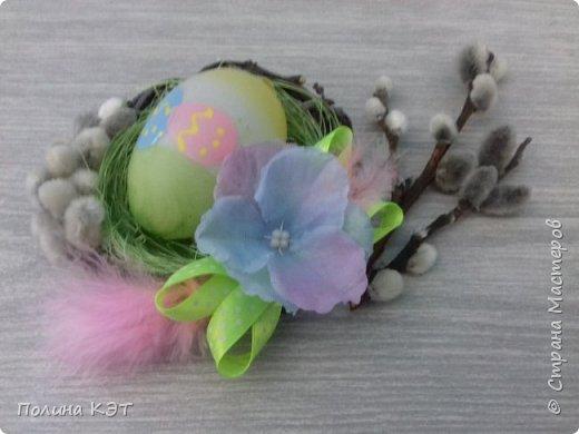 Подарочные пасхальные гнездышки для крашенок. фото 8