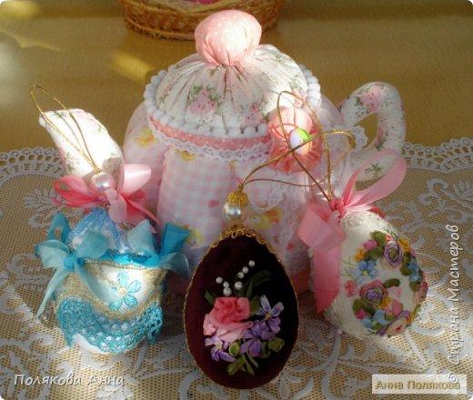 """Текстильный чайник """"Нежный"""" станет замечательным подарком, послужит шкатулочкой для чайных пакетов, конфеток, бижутерии или других мелочей, а также может быть необычной упаковкой для небольшого подарка. фото 4"""