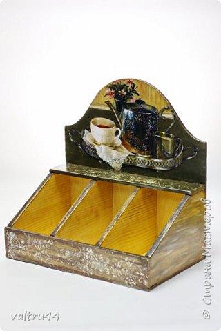 Короб для чайных пакетиков