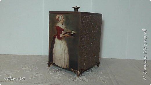 "короб для сыпучих продуктов ""Шоколадница"" фото 1"