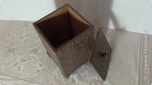 "короб для сыпучих продуктов ""Шоколадница"" фото 3"