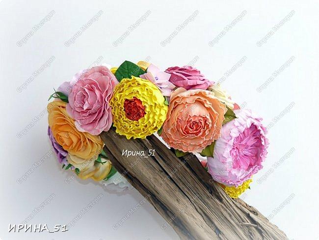 """Приветствую всех жителей Страны Мастеров. Сегодня я к  Вам с очередной порцией цветов из фома.  Без лишних слов приглашаю к просмотру.  Роза  """"Peach Avalanche"""" (Пич Аваланж) фото 4"""