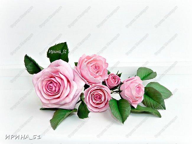 """Приветствую всех жителей Страны Мастеров. Сегодня я к  Вам с очередной порцией цветов из фома.  Без лишних слов приглашаю к просмотру.  Роза  """"Peach Avalanche"""" (Пич Аваланж) фото 2"""