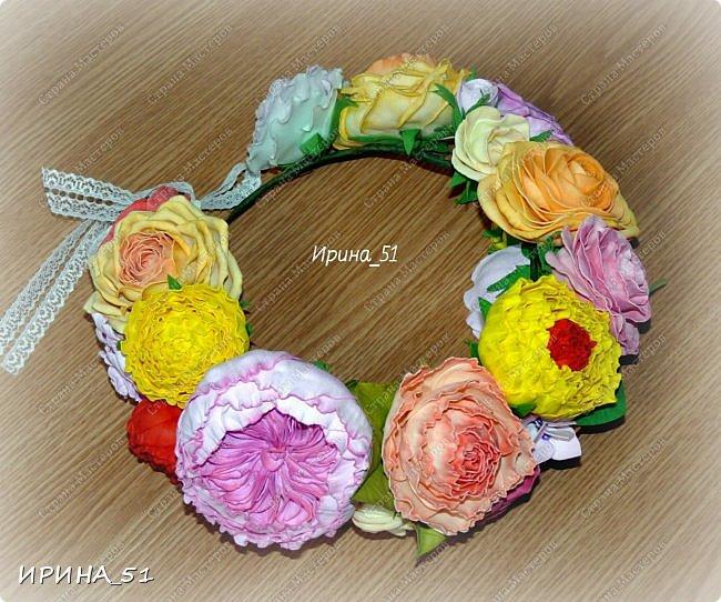 """Приветствую всех жителей Страны Мастеров. Сегодня я к  Вам с очередной порцией цветов из фома.  Без лишних слов приглашаю к просмотру.  Роза  """"Peach Avalanche"""" (Пич Аваланж) фото 5"""