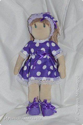 Вот она моя первая куколка))) фото 1