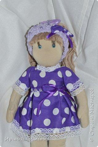 Вот она моя первая куколка))) фото 2